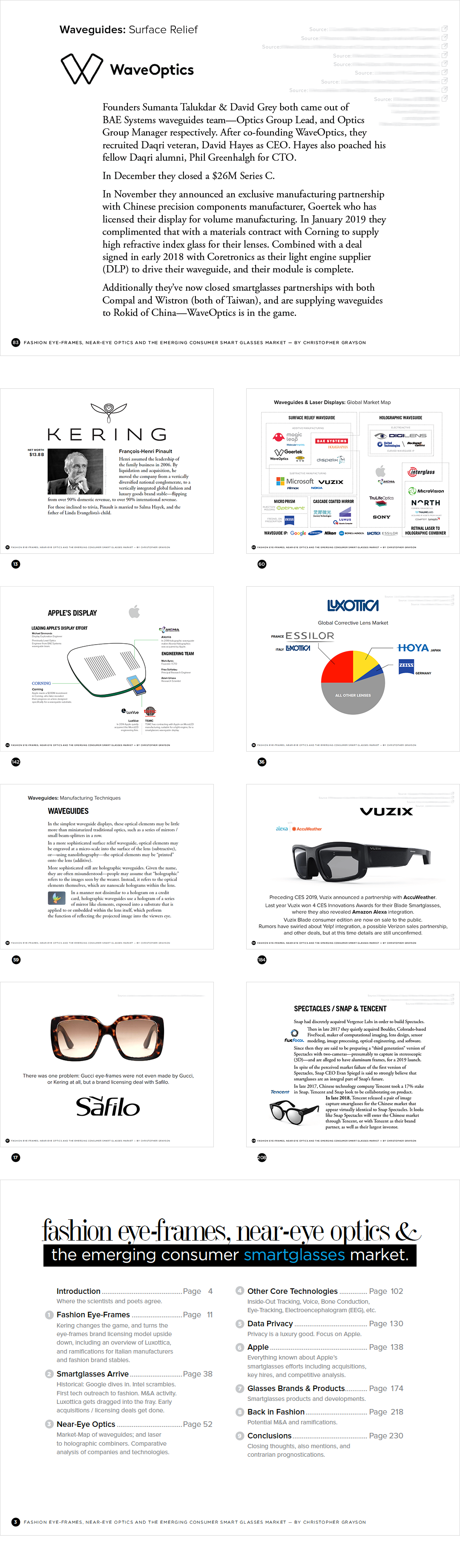 Fashion Eye-Frames Near-Eye Optics Emerging Consumer Smartglasses Market
