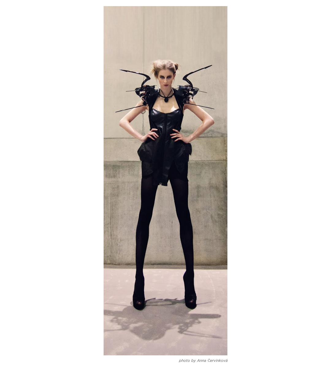 Anouk Wipprecht Spider Dress