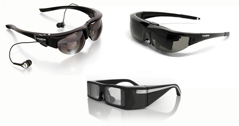 Consumer Augmented Reality Eyewear by Vuzix and Lumus at GigantiCo